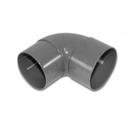 PVC bocht 90 graden 80 mm