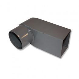 Stadsuitloop PVC 60x80 mm buis 70-80 mm