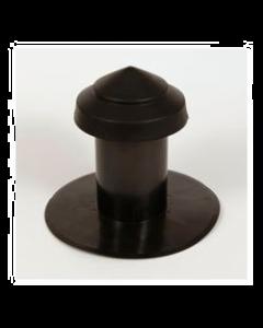 Ontluchting Ø 166/160 mm enkelwandig PE