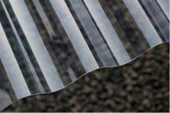 Polycarbonaat golfplaat enkelwandig helder type F 177/51