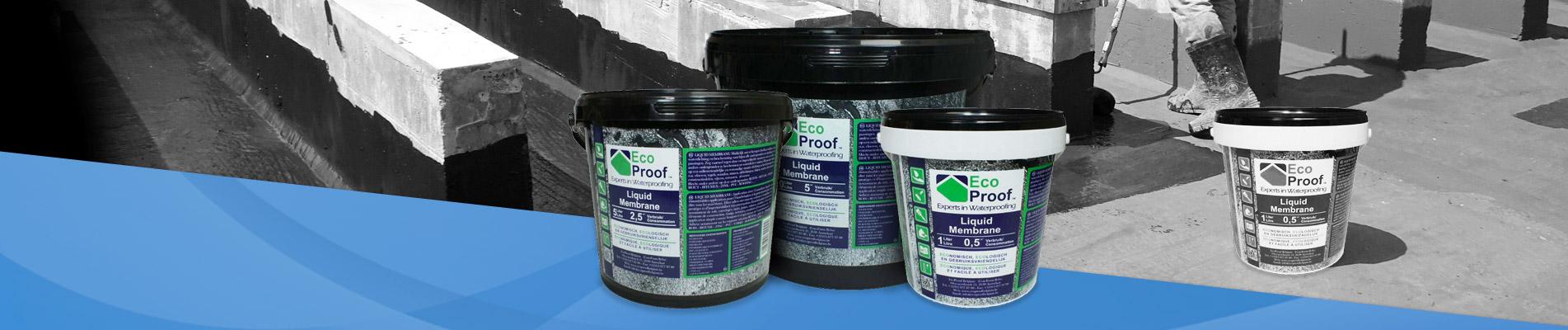 EcoProof vloeibaar rubber